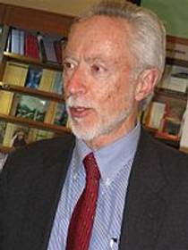 Picture of an author: J.M. Coetzee