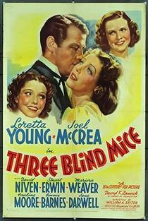 Picture of a movie: Three Blind Mice