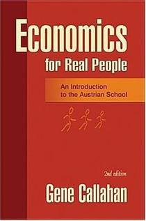 Picture of a book: Economics for Real People: An Introduction to the Austrian School