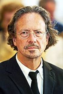 Picture of an author: Peter Handke