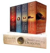Picture of a book: A Song Of Ice And Fire
