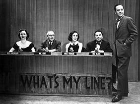 Picture of a TV show: What's My Line?