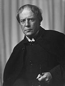 Picture of an author: Arthur Machen
