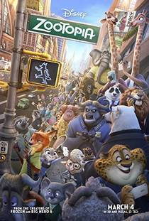 Picture of a movie: Zootopia