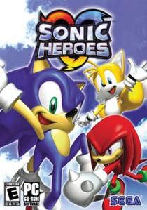 Picture of a game: Sonic Heroes