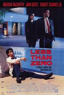 Picture of a movie: Less Than Zero