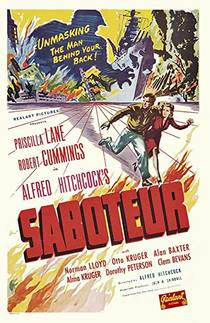 Picture of a movie: Saboteur