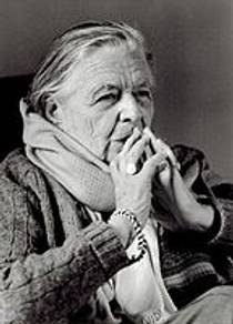 Picture of an author: Marguerite Yourcenar