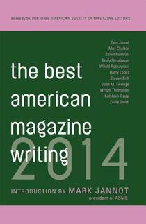 Picture of a book: The Best American Magazine Writing 2014