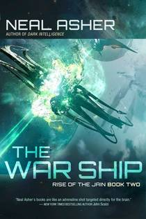 Picture of a book: The Warship: Rise of the Jain, Book Two