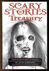 Picture of a book: Scary Stories Treasury