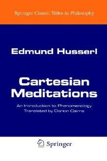 Picture of a book: Cartesian Meditations: An Introduction to Phenomenology
