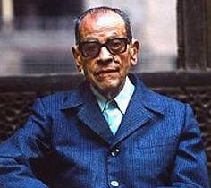 Picture of an author: Naguib Mahfouz