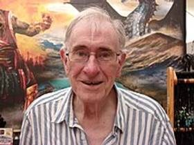 Picture of an author: Christopher Priest