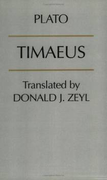 Picture of a book: Timaeus
