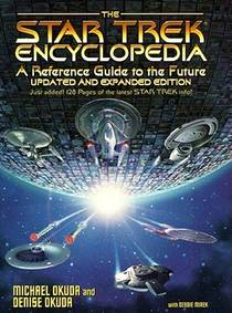 Picture of a book: The Star Trek Encyclopedia