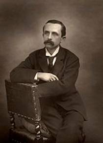 Picture of an author: J.M. Barrie