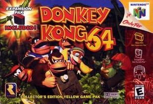 Picture of a game: Donkey Kong 64