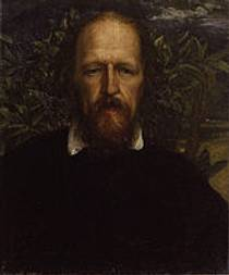 Picture of an author: Alfred Tennyson