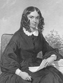 Picture of an author: Elizabeth Barrett Browning