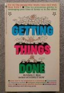 Picture of a book: Getting Things Done