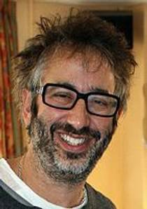 Picture of an author: David Baddiel