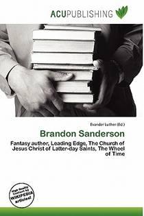 Picture of a book: Brandon Sanderson