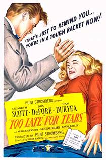 Picture of a movie: Too Late For Tears