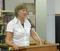Picture of an author: Sharon Creech