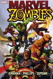 Picture of a book: Marvel Zombies