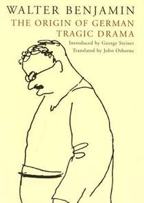 Picture of a book: The Origin of German Tragic Drama