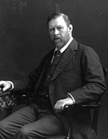 Picture of an author: Bram Stoker