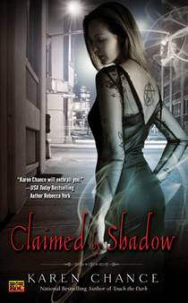 Picture of a book: Claimed By Shadow