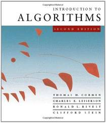 Picture of a book: Introduction To Algorithms