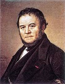 Picture of an author: Stendhal