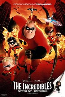 Picture of a movie: The Incredibles