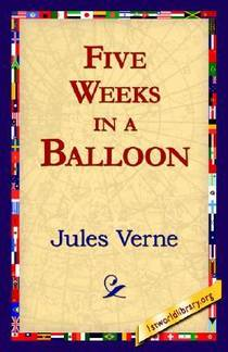 Picture of a book: Five Weeks In A Balloon