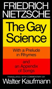 Picture of a book: The Gay Science