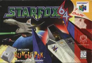 Picture of a game: Star Fox 64