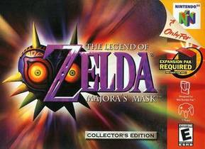 Picture of a game: The Legend Of Zelda: Majora's Mask