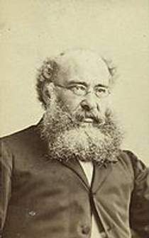 Picture of an author: Anthony Trollope