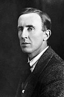 Picture of an author: J.R.R. Tolkien