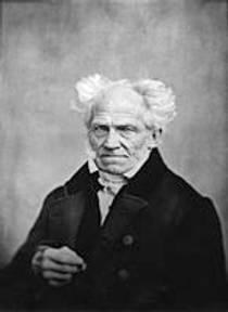 Picture of an author: Arthur Schopenhauer