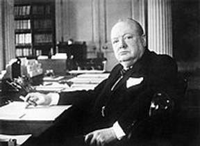 Picture of an author: Winston S. Churchill