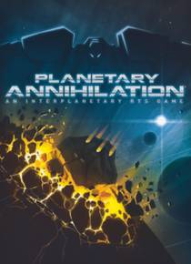 Picture of a game: Planetary Annihilation