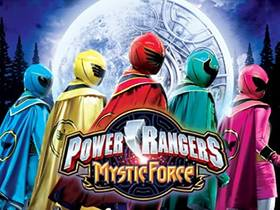 Picture of a TV show: Power Rangers Mystic Force