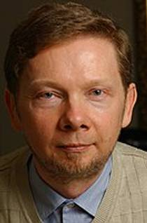 Picture of an author: Eckhart Tolle