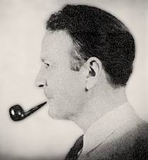 Picture of an author: Raymond Chandler