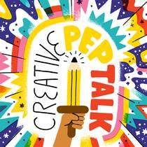 Picture of a podcast: Creative Pep Talk