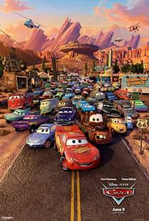 Picture of a movie: Cars